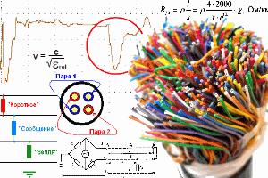 Измерение на медном кабеле связи